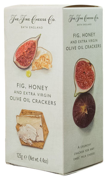 Crackers com Figo e Mel - The Fine Cheese Co.