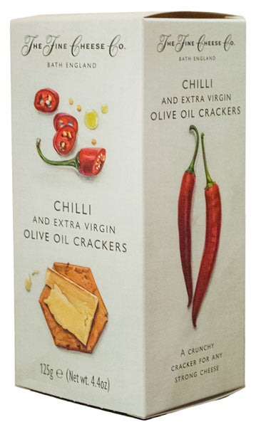 Crackers com Chili Picante - The Fine Cheese Co.