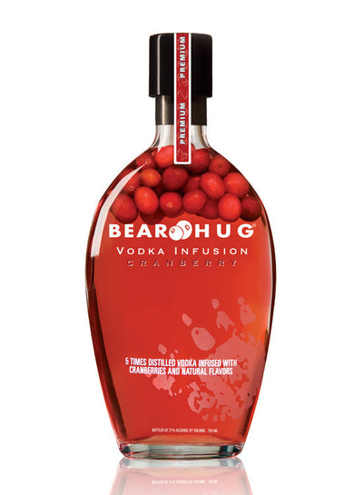 Vodka Bear Hug Cranberry - Arandos