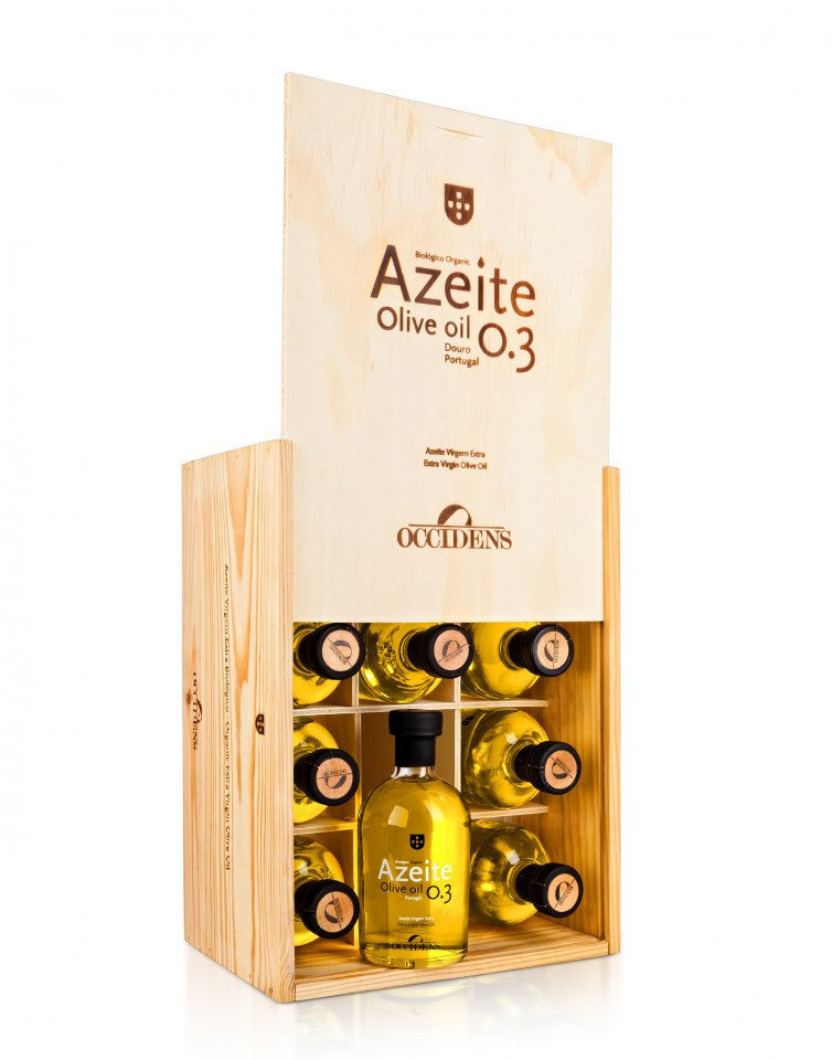 Azeite Extra Virgem Biológico Occidens . Pack 12