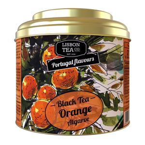 Chá Preto Laranja do Algarve Lisbon Tea Co.