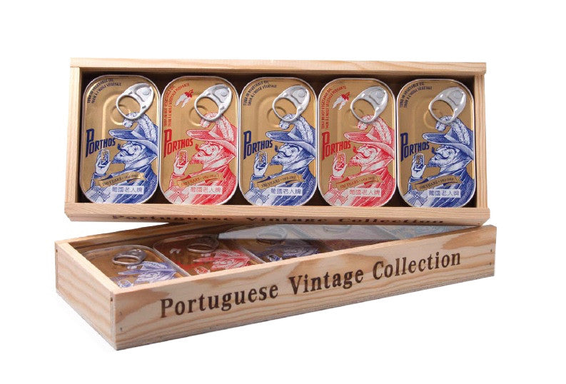 Conservas de Atum Porthos - Portuguese Vintage Collection