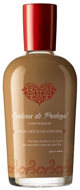 Licor de Chocolate com Ginja Cantares de Portugal