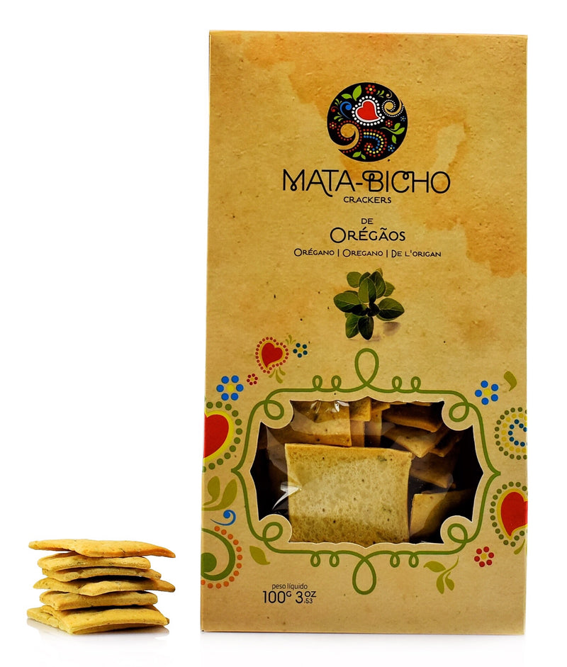 Crackers de Oregãos Mata-Bicho