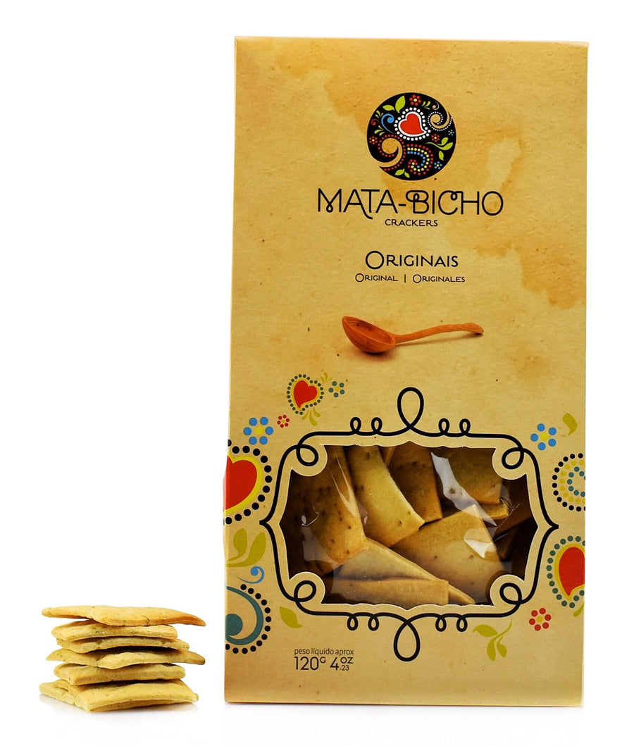 Crackers Originais Mata-Bicho