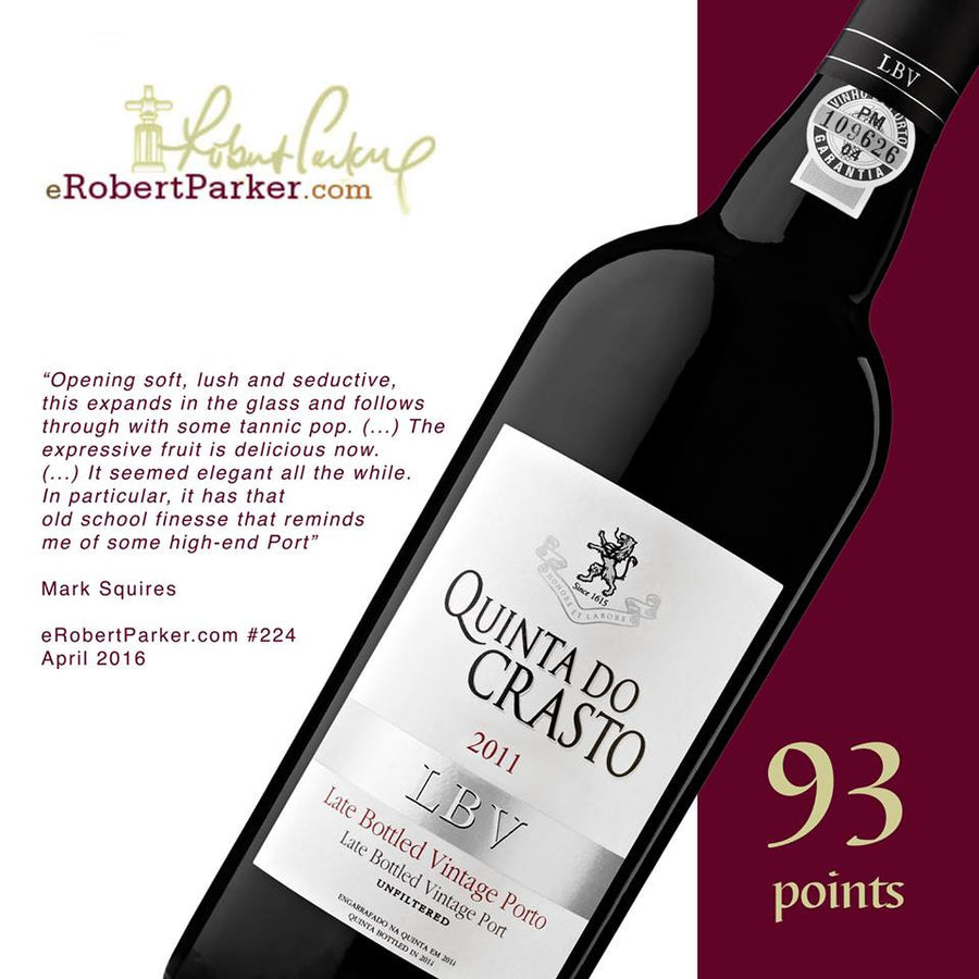 Vinho do Porto LBV (Late Bottled Vintage) . Quinta do Crasto