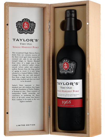 Vinho do Porto Taylors Single Harvest 1968