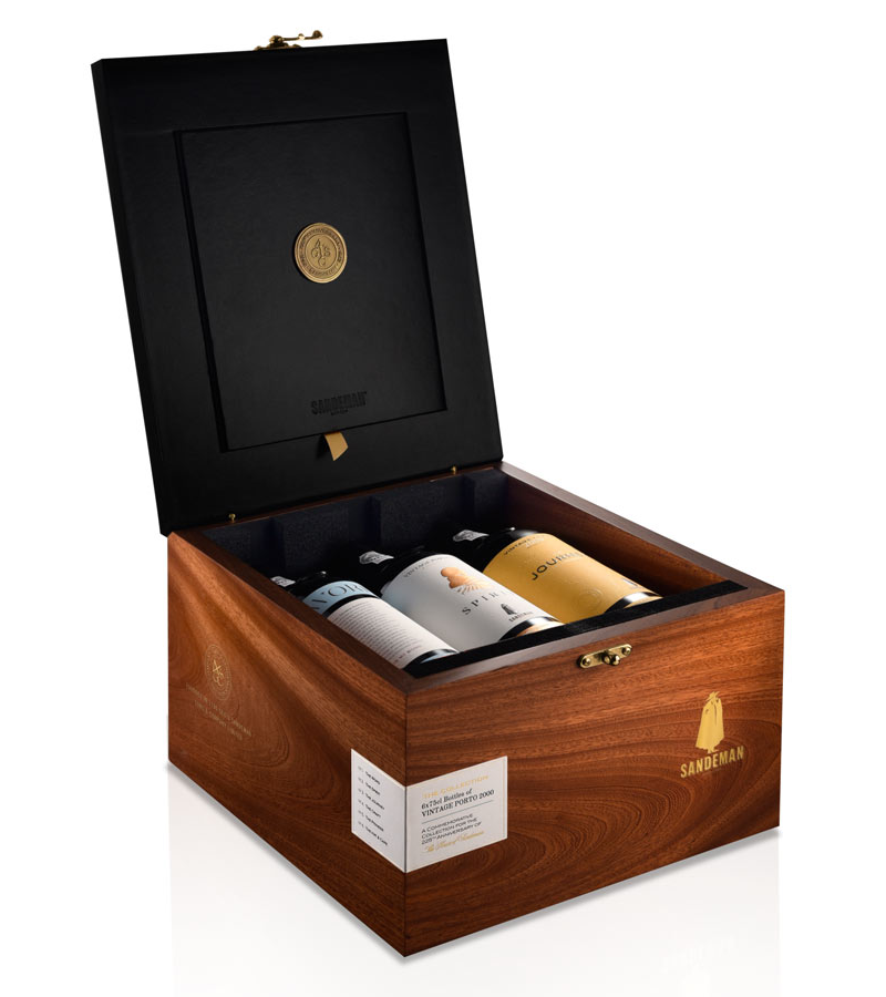 Vinho do Porto Vintage 2000 Collection Box . Sandeman