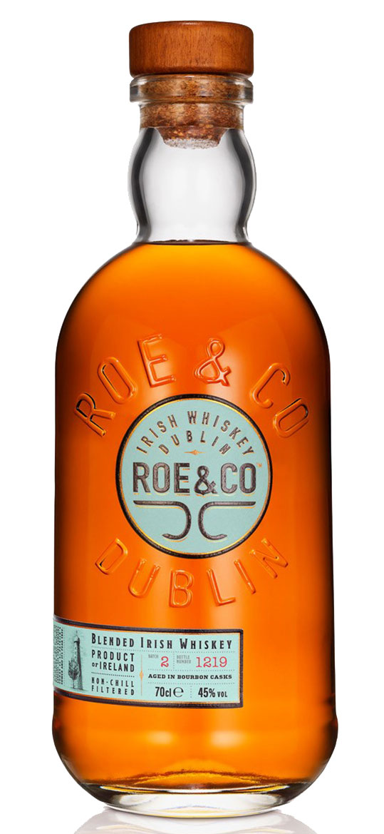 Whiskey Irlandês Premium Roe & Co