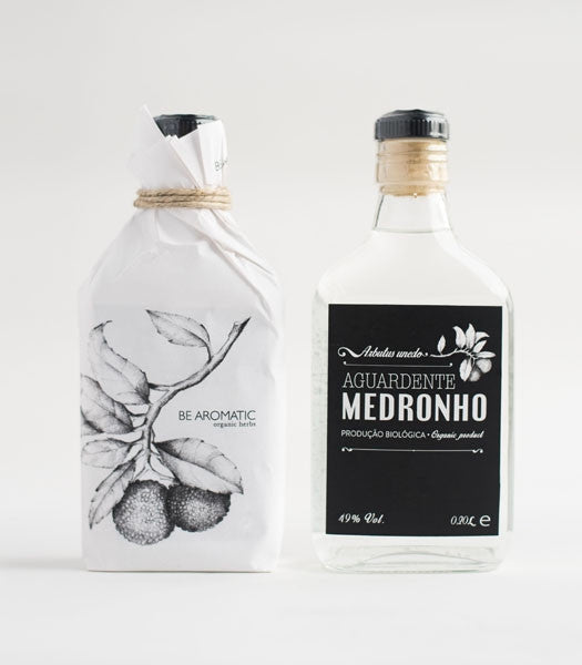 Aguardente de Medronho Bio Be Aromatic