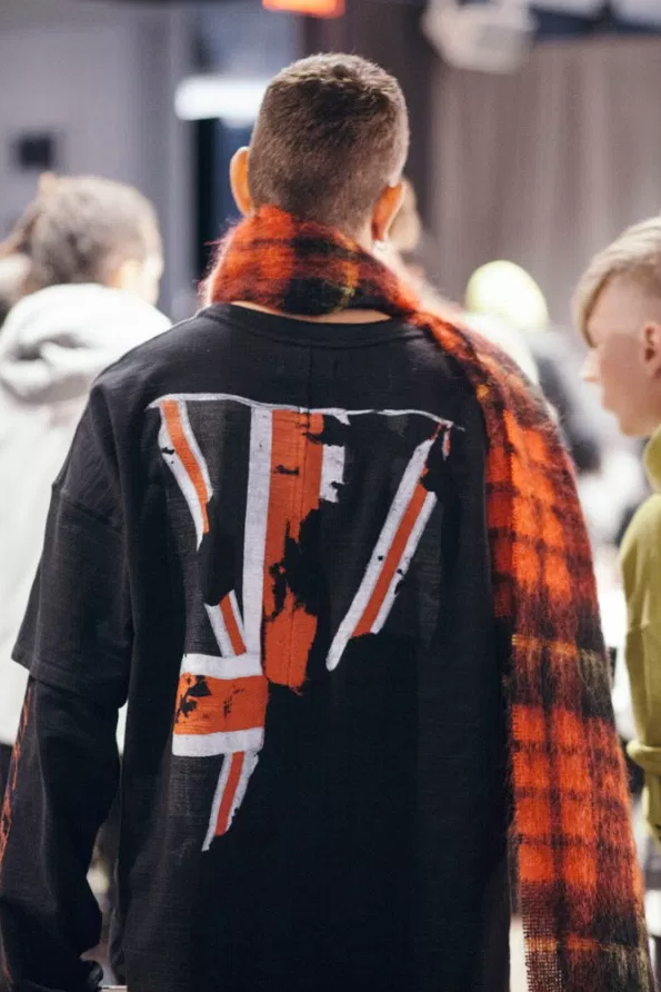 Essential Homme - Backstage at Represent NYFWM