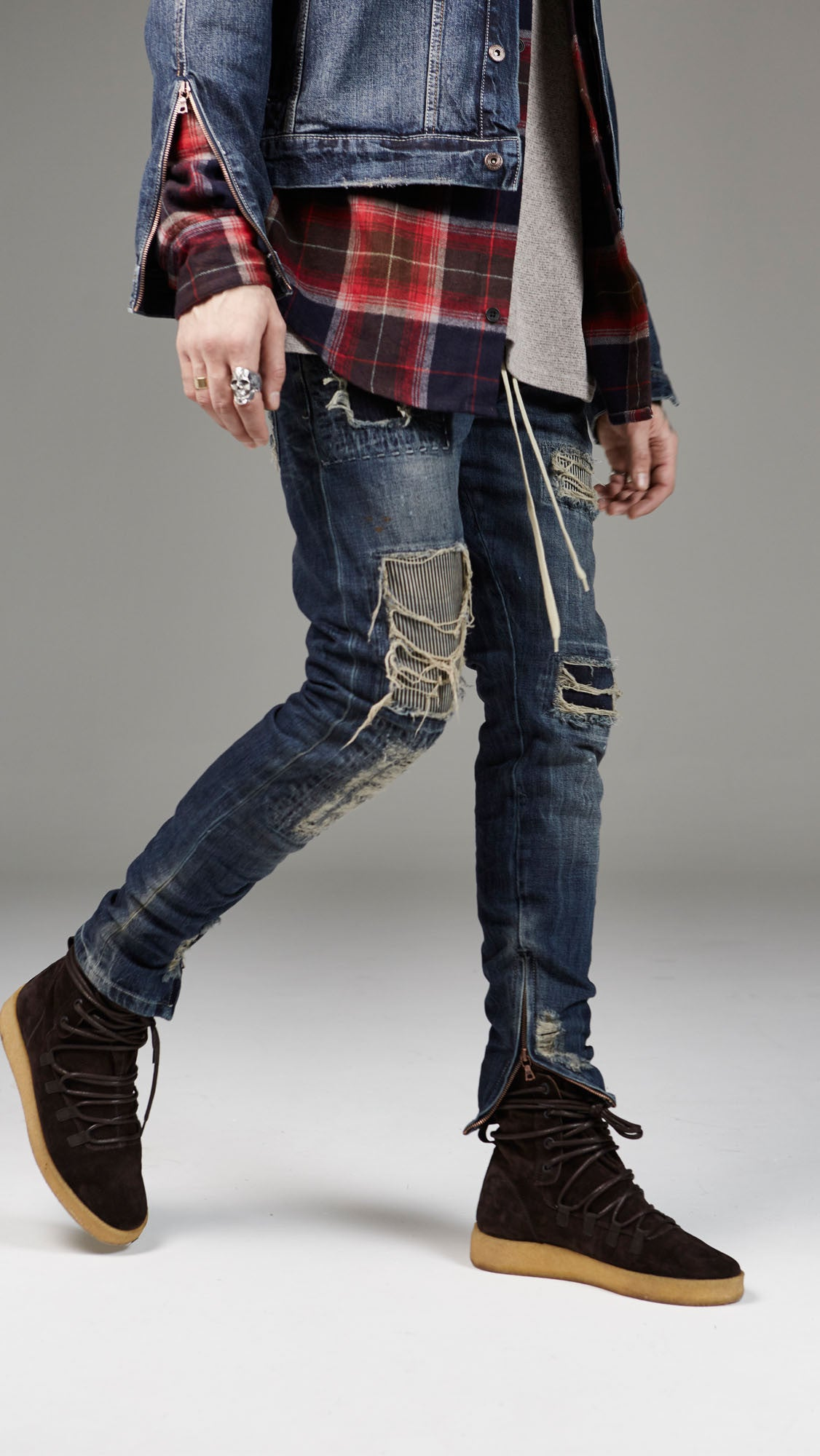 Patchwork Selvedge Denim - Vintage