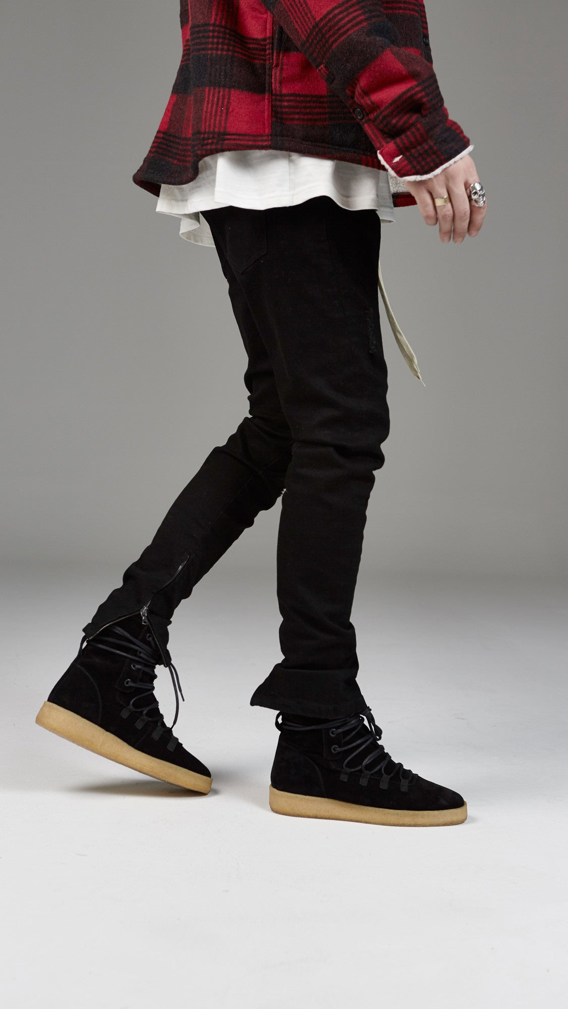 Basic Selvedge Denim - Black
