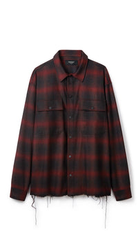 Plaid Shirt - Red/Black