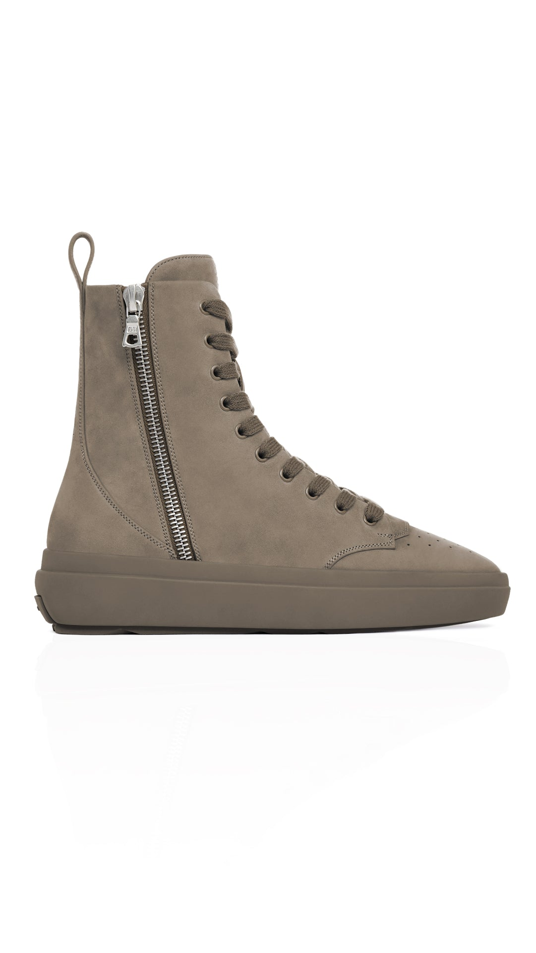 The Alpha Sneaker-boot - Morel