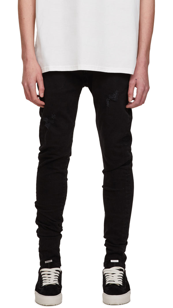Distressed Denim - Black