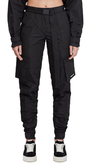 Women's Technical Military Pants - Black