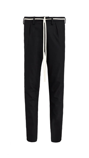 Smoking  Pants - Black