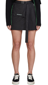 Women's Technical Military Skirt - Black