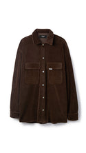Velour Shirt - Brown