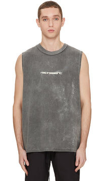 Tech Logo Vest - Grey