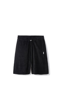 Towel Shorts - Black