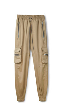 Cotton Military Pant - Sand