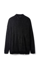 Towel Sweater - Black