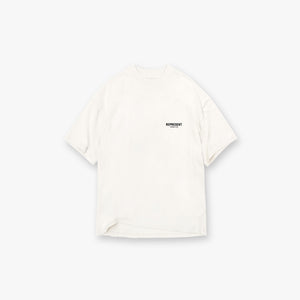Represent Owners Club T-Shirt - Flat White