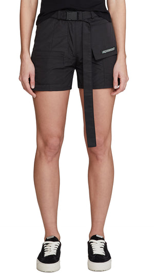 Women's Technical Military Shorts - Black