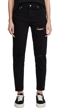 Women's Boyfriend Denim - Black