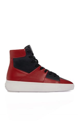 The Alpha Mid - Black & Red
