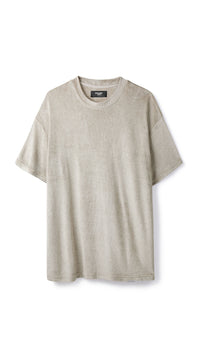 Towel T-shirt - Almond
