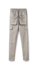Slim Fit Cargo Pant - Almond