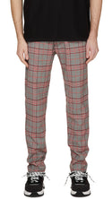 Smoking Pants - Red Check