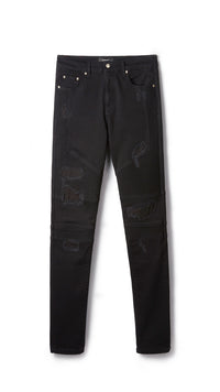 Biker Denim - Vintage Black