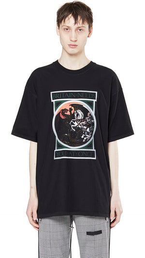 George and The Dragon T-Shirt - Black