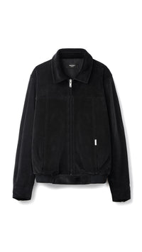 Velour Jacket - Black