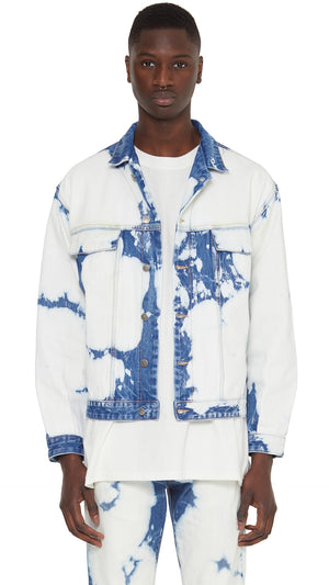 Denim Jacket - Stained
