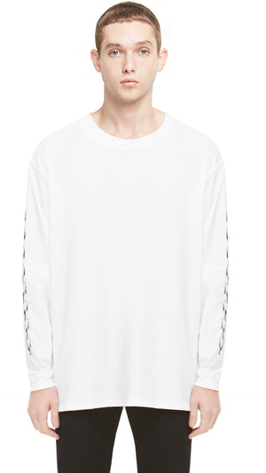 Represent Records Long Sleeve T-shirt - White
