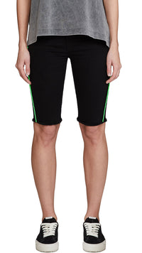 Women's Denim Riding Short - Black