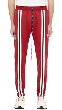 Represent x Admiral Track Pants - Burgundy