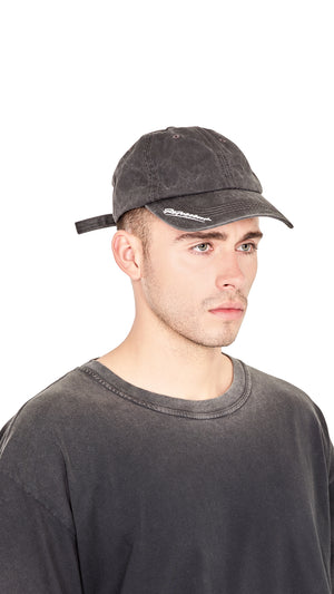 Signature Dad Hat - Vintage Black