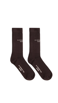 Logo Sock - Brown