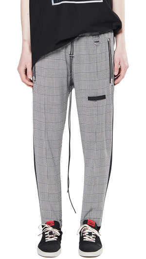 Stirrup Pants - Large Check