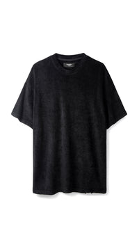 Towel T-shirt - Black