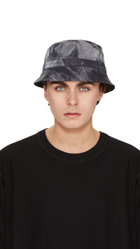 Bucket Hat - Black Tie Dye