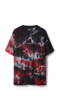 Logo T-Shirt - Red Marble