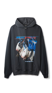 Night Hunter Hoodie - Vintage Black