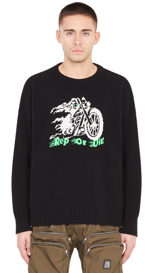 Rep Or Die Knit Sweater